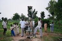 portable well drilling water drill small drill rig man